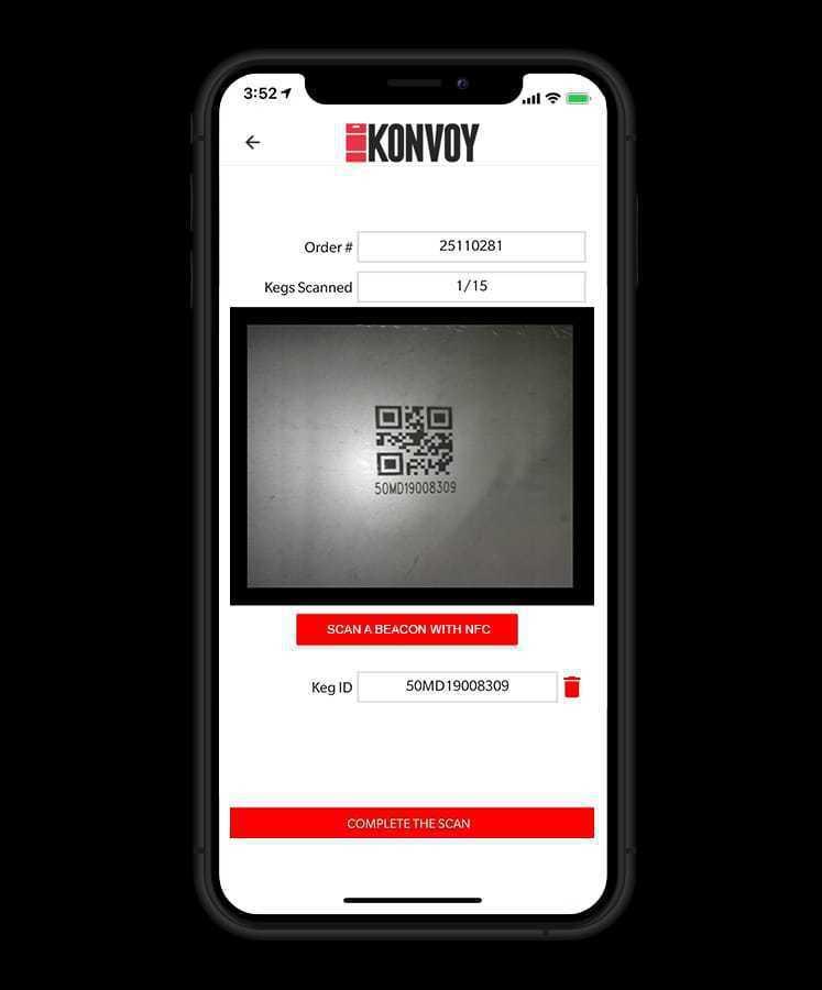 為了讓硬體增值,團隊還打造了一個行動APP應用程式,使Konvoy及合作夥伴在啤...