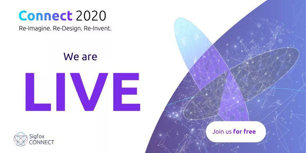 Sigfox CONNECT 是全球知名的物聯網年度盛事,今年受疫情影響也改為線...