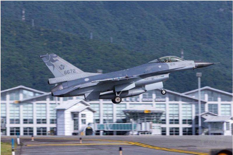 F-16戰機失聯。圖/軍聞社