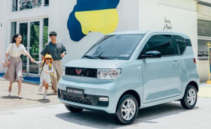 五菱宏光MINI EV今年8月正式上市。取自易車網