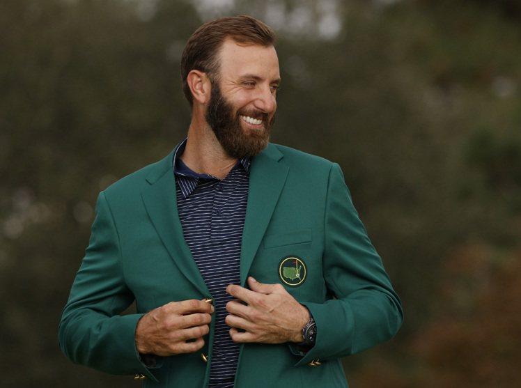 宇舶表品牌大使達斯汀強生,破紀錄披綠夾克於美國名人賽奪冠。圖/宇舶表提供