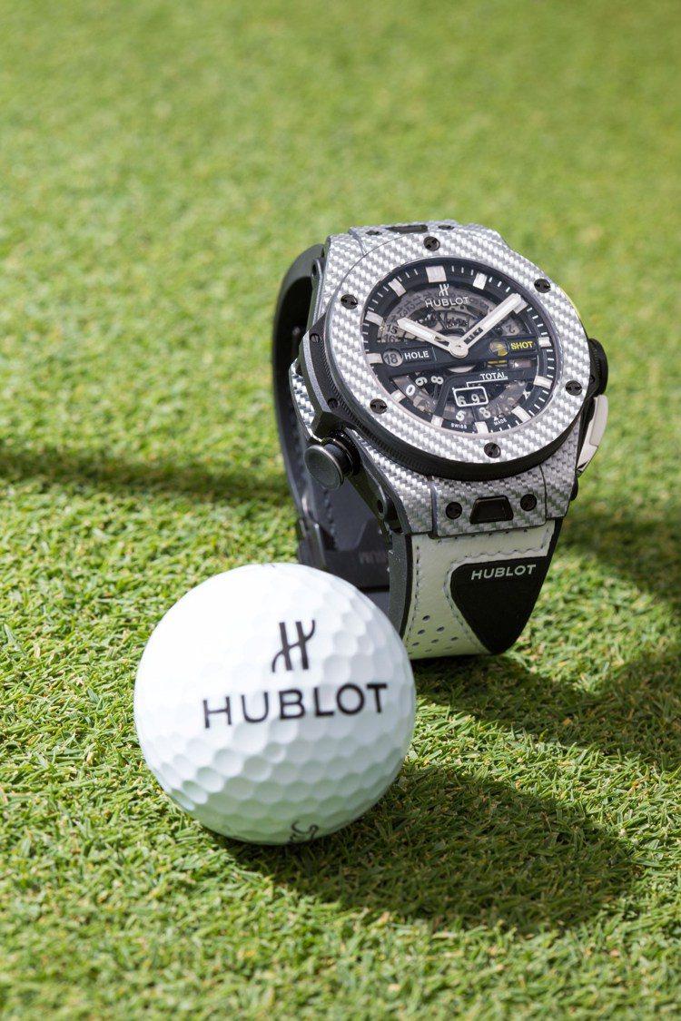 HUBLOT Big Bang Unico Golf高爾夫腕表,97萬8,000...