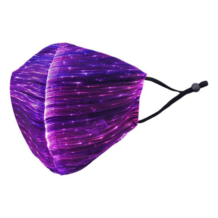 幻彩漸變LED發光口罩(1入),生活市集5.7折特價573元。圖/生活市集提供