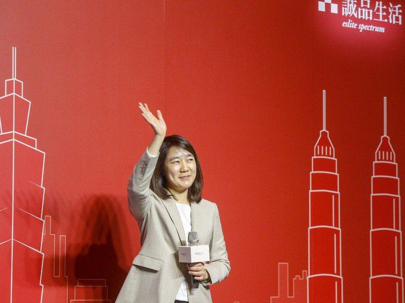 誠品生活董事長吳旻潔宣布誠品2022年將開出東南亞首店。記者鄭超文/攝影