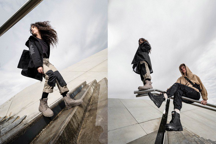 PALLADIUM專為女性打造全新的PALLABOSSE SC凜冬美靴,透過剪裁...
