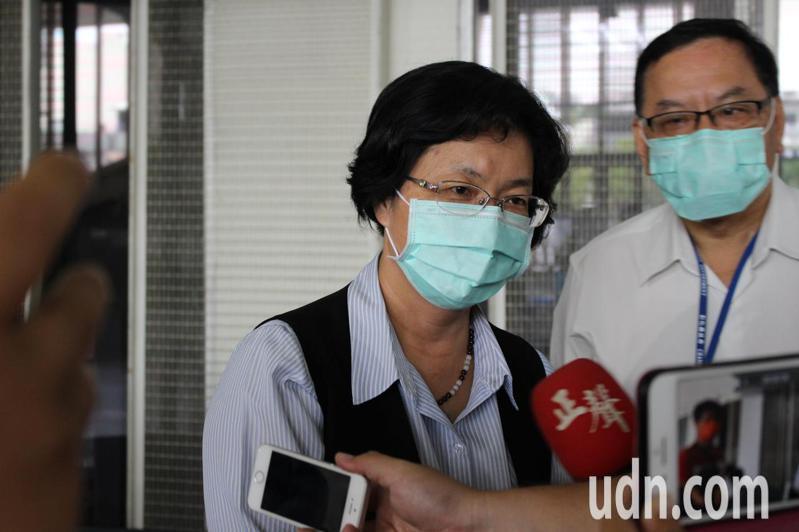 NCC不予中天新聞台換照,彰化縣長王惠美表示「今天將是台灣新聞界最黑暗的一天」。記者林敬家/攝影