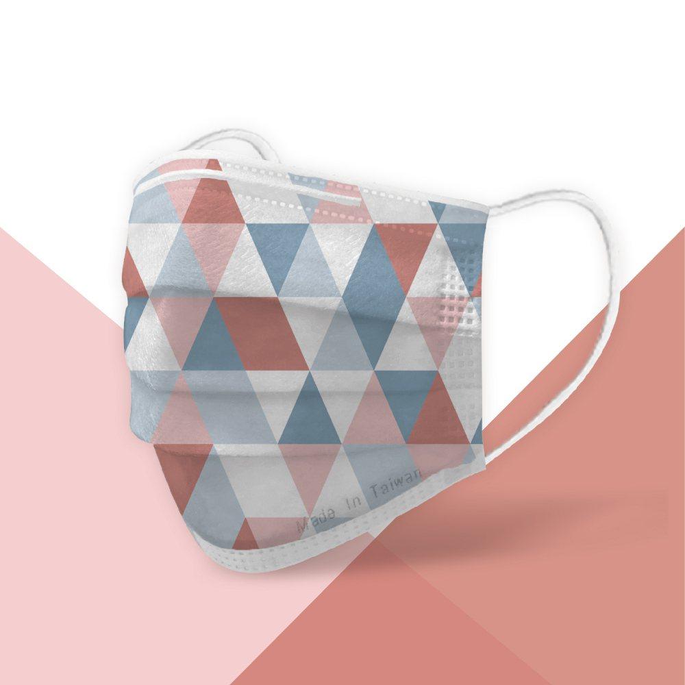 POYA寶雅獨家限定「MIT許願口罩」-幻彩虹款.50入盒裝售價399元,限量售...