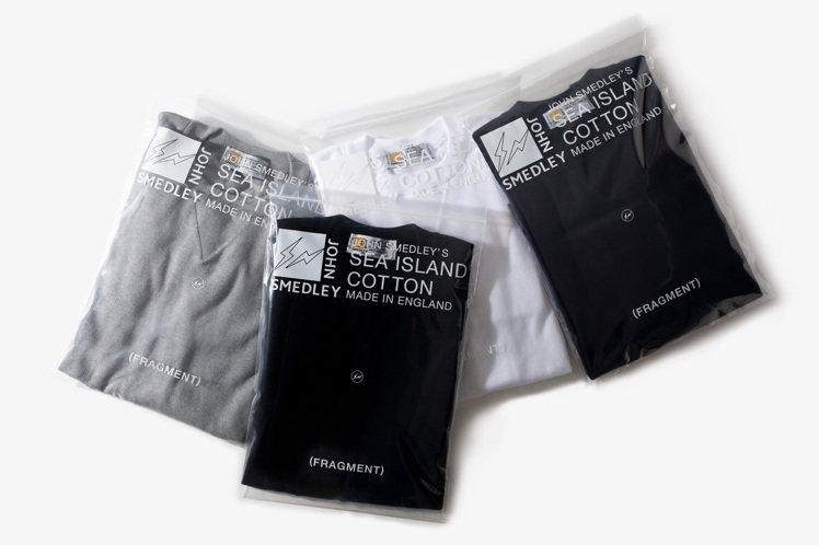 Fragment design與針織品牌John Smedley聯名系列,在領口...