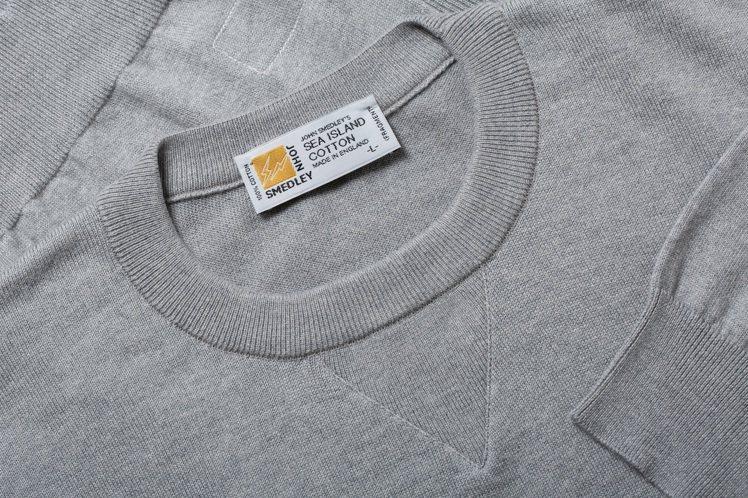 Fragment design與針織品牌John Smedley聯名系列,領標取...