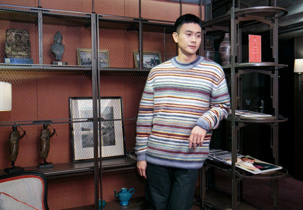 劉冠廷在「同學麥娜絲」演出有口吃毛病的「閉結」。記者曾原信/攝影