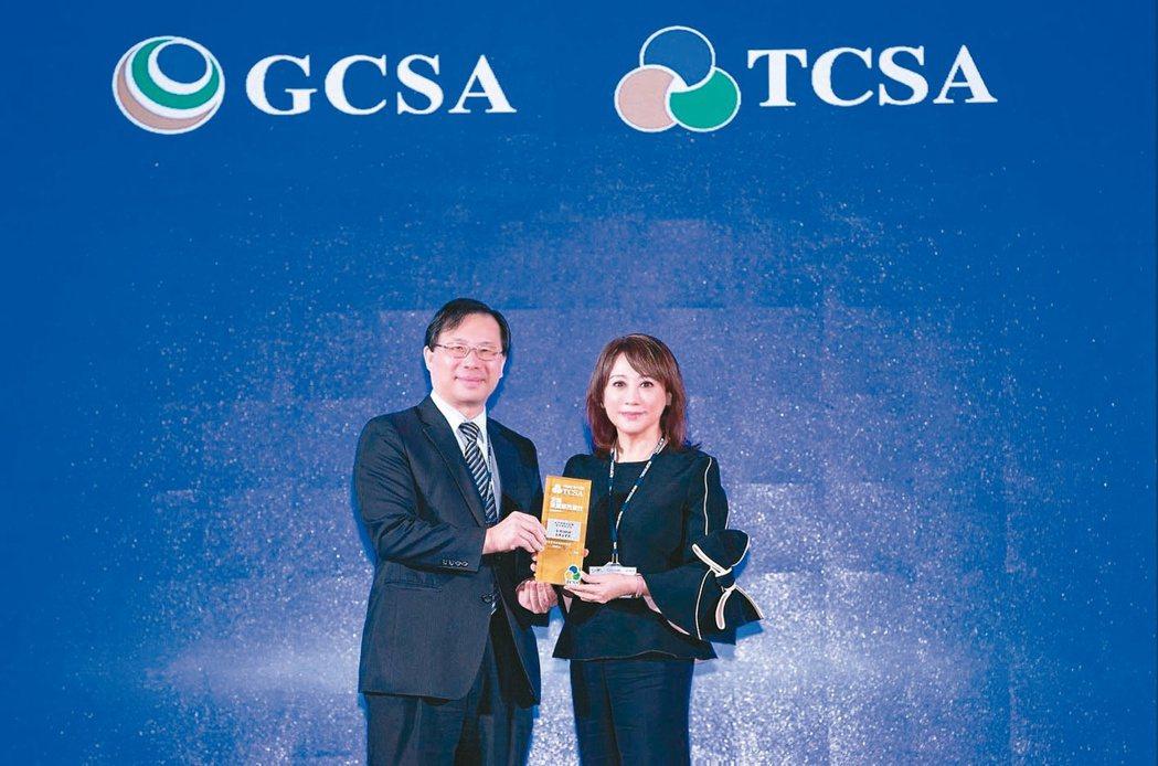 遠東SOGO百貨連四年獲TCSA台灣企業永續獎綜合績效類─TOP50台灣永續企業...