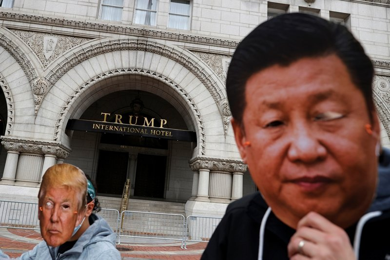 此行政命令是川普政府首次針對美國金融機構和投資人與中國的投資關係下手,加強「脫鉤」用意明確。 圖/路透社