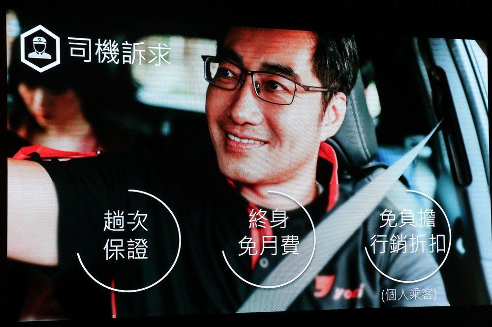 yoxi對於首批司機祭出多款優惠措施。 記者陳威任/攝影