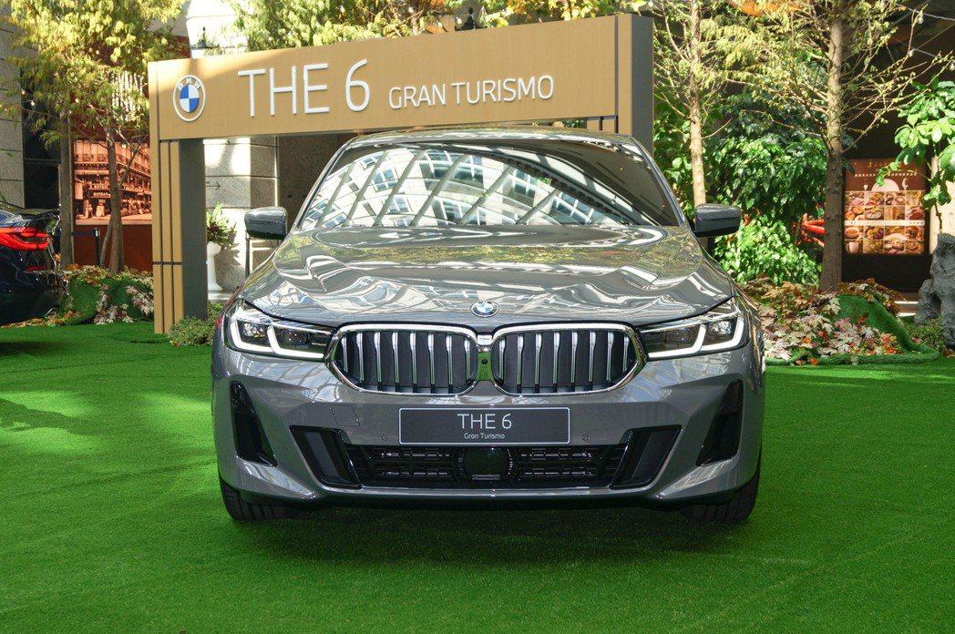 小改款BMW 6 Series Gran Turismo改搭全新L型智慧LED頭...