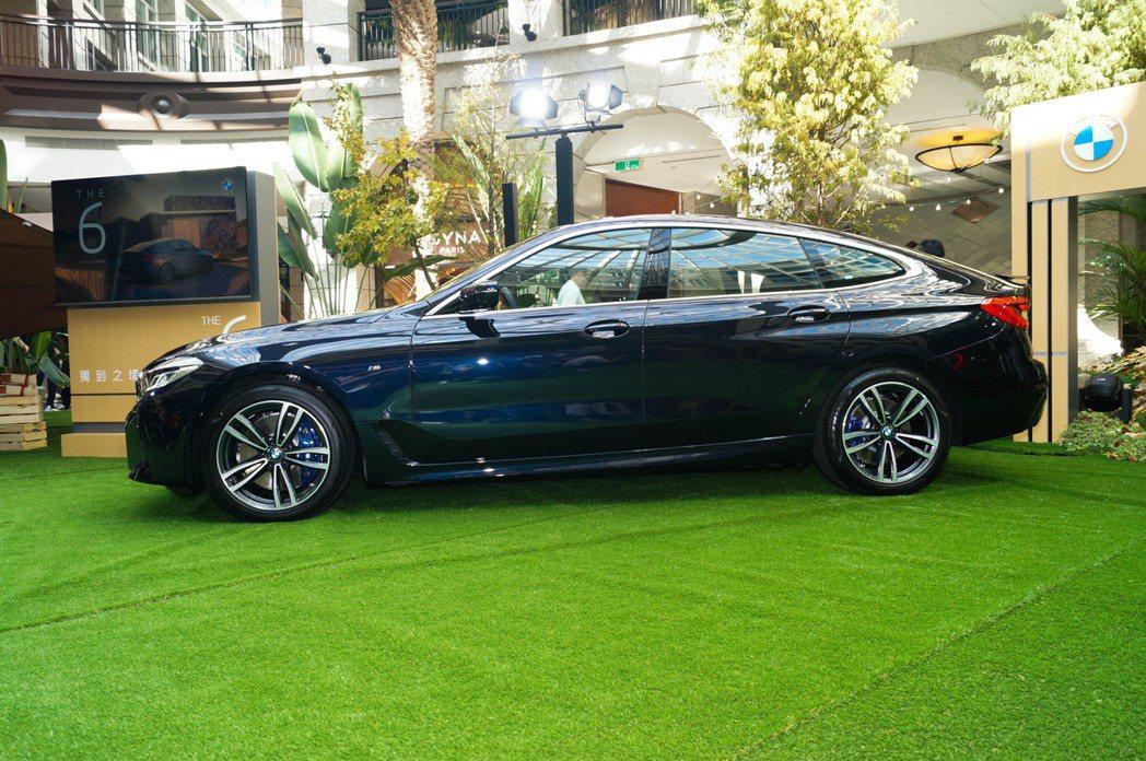 小改款BMW 6 Series Gran Turismo。 記者趙駿宏/攝影
