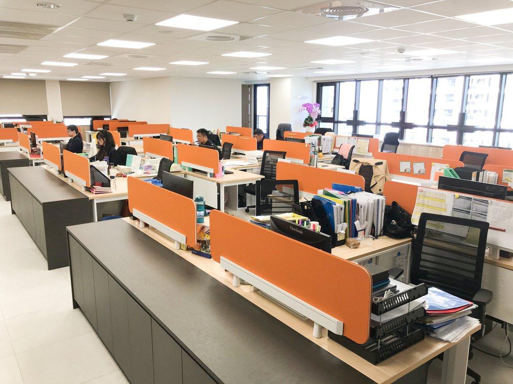 智慧型辦公空間。 攝影/張世雅