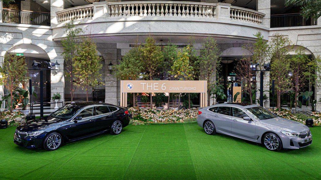 小改款BMW 6 Series Gran Turismo單一車型在台售價為368...