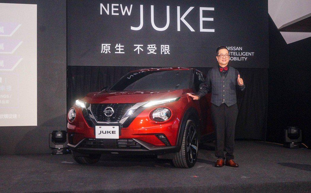 Nissan Juke三車型86.9萬起正式登台。 記者趙駿宏/攝影