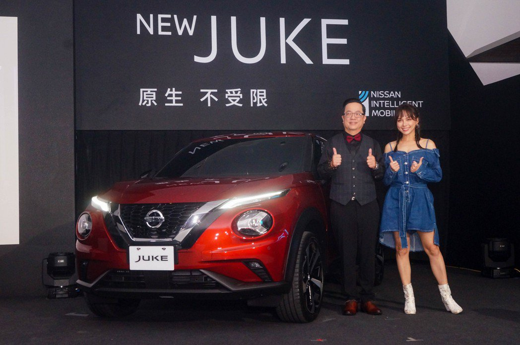 二代Nissan Juke終於登台上市。 記者趙駿宏/攝影