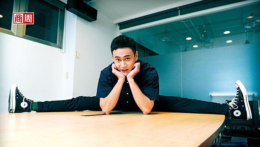 圖為今年入圍金馬獎的演員劉冠廷。(攝影者.程思迪)
