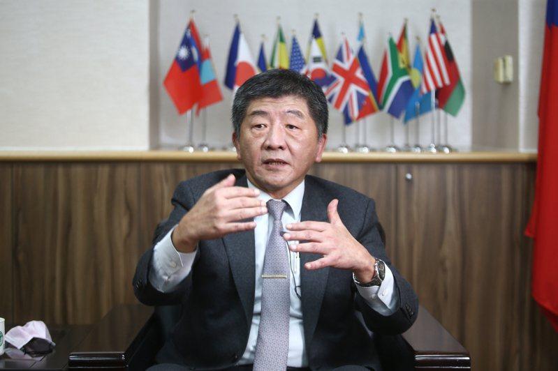 衛福部長陳時中。記者蘇健忠攝影/報系資料照