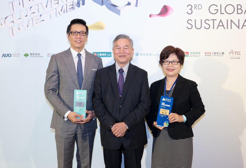 2020年第13屆台灣企業永續獎揭曉,第一金控連同旗下銀行及證券子公司總計囊括六...
