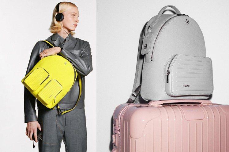 RIMOWA將推出品牌百年來首個系列包款,提供後背包、旅行袋、購物包等選擇。圖/...