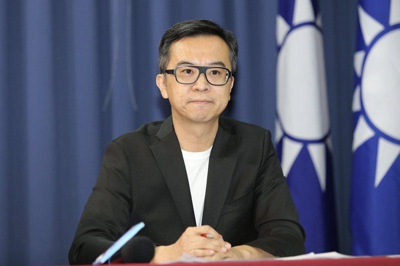 國民黨文傳會副主委黃子哲。 聯合報系資料照