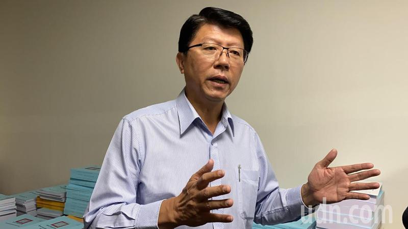國民黨副秘書長謝龍介被視為黨內下屆台南市長人選最強棒。記者鄭維真/攝影