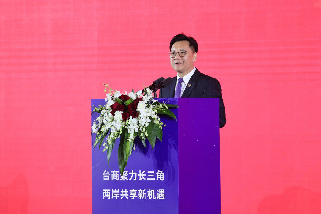 大陸全國台灣同胞投資企業聯誼會會長李政宏。中新社