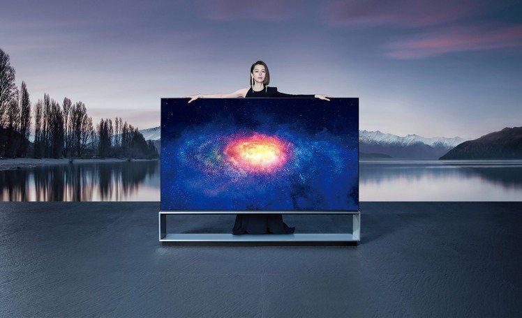 全球首款88型LG SIGNATURE OLED ZX 8K AI語音物聯網電視...