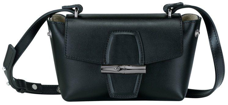 Roseau Box黑色S斜背袋,15,700元。圖/LONGCHAMP提供
