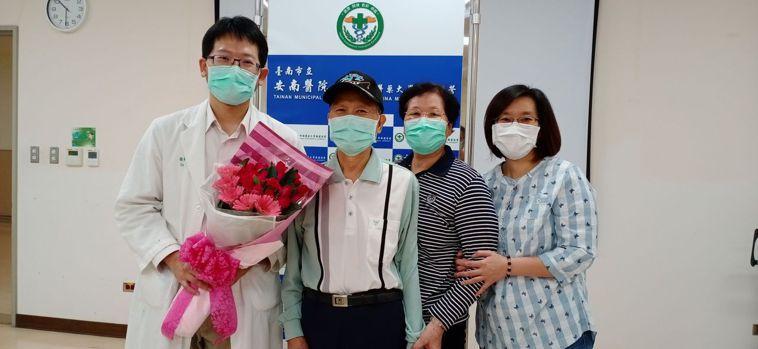 肝癌末期患者並復發經過免疫治療,至今已經存活三年。圖/安南醫院提供