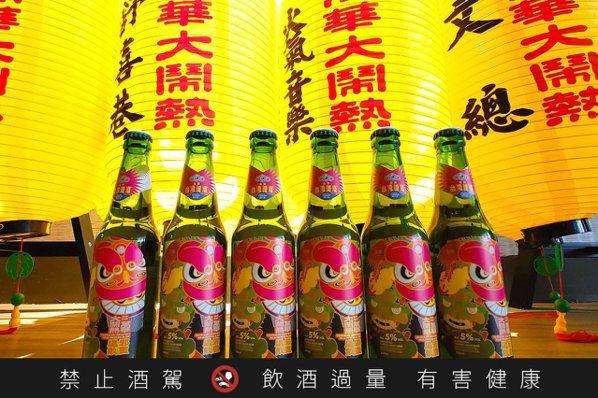 有神快收!台灣啤酒 X 艋舺青山宮  1200瓶「地酒」限定販售