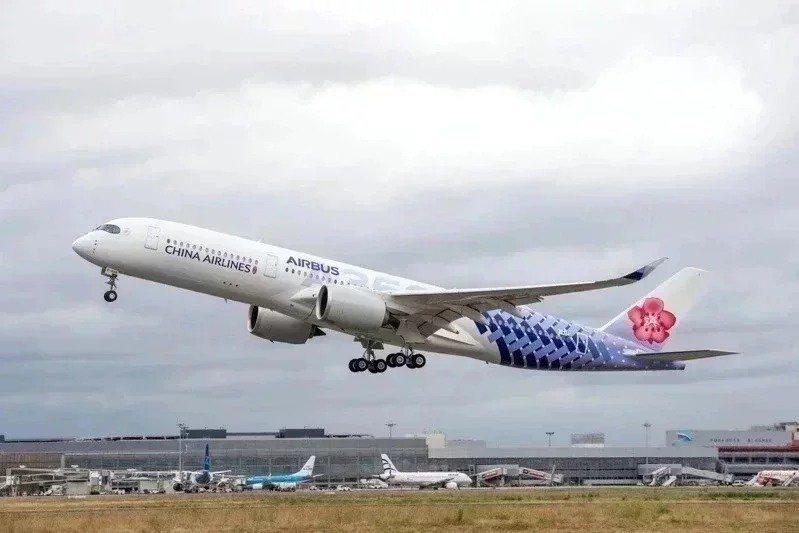 中華航空示意圖。聯合報系資料照