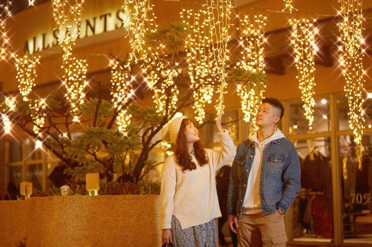 三期耶誕燈海。圖/華泰名品城提供