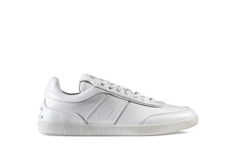 TOD'S復古皮革男女士休閒鞋,23,000元。圖/迪生提供
