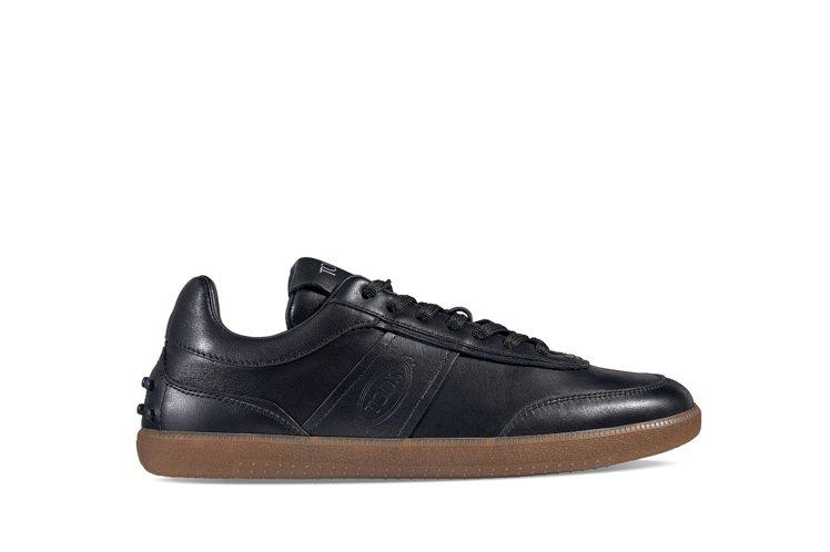 TOD'S復古皮革女士休閒鞋,23,000元。圖/迪生提供