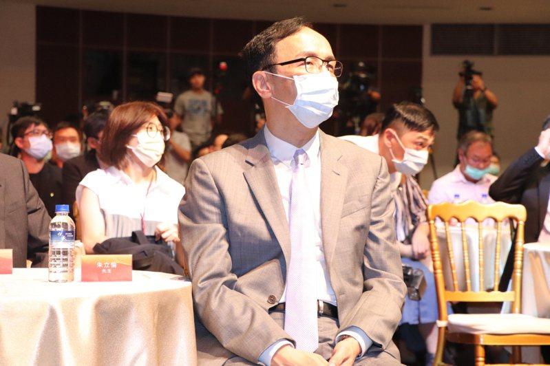 新北市前市長朱立倫今出席吳舜文新聞獎頒獎典禮。記者吳亮賢/攝影