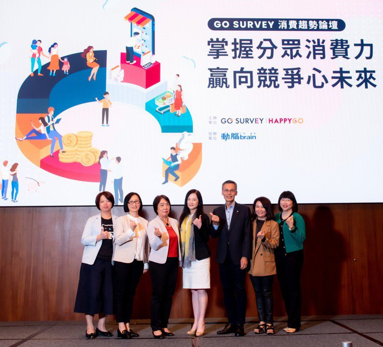 HAPPY GO旗下市調顧問品牌GO SURVEY 19日舉行消費趨勢論壇,解構...