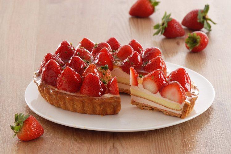 歡樂鮮莓派,6吋780元。圖/亞尼克提供