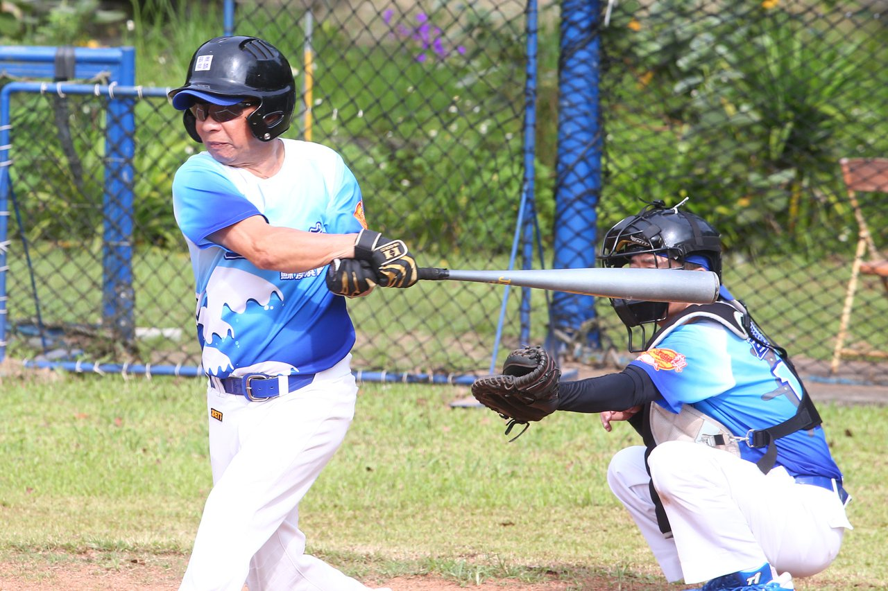 練習棒球就是要勤練,每天練習,這些過程是人生中很美好的回憶,也很有成就感。 攝影...