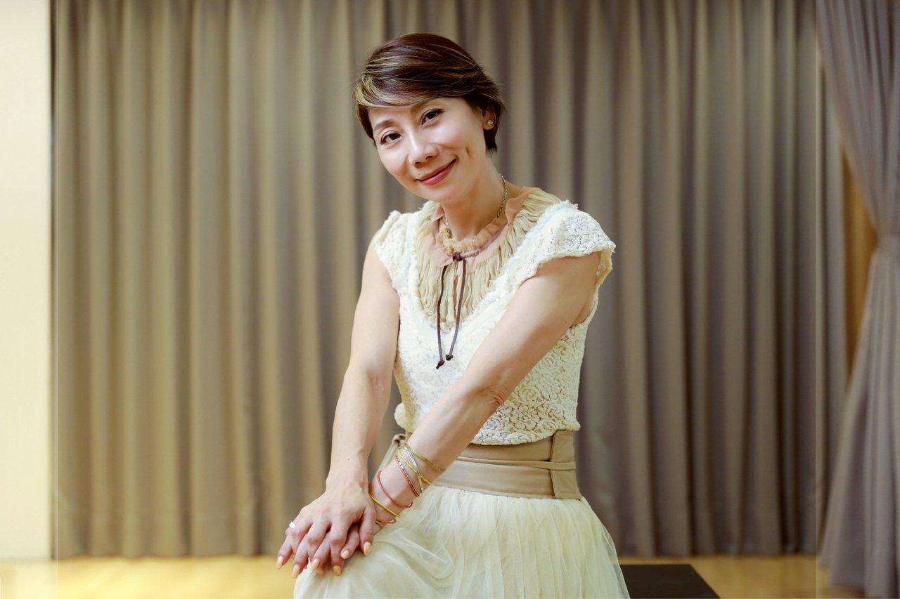 千面女郎郎祖筠,跨足演員、主持人、導演、製作人和專業導師等多種角色。 攝影/陳軍...