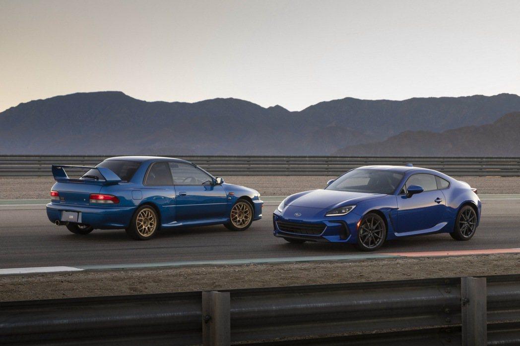 Subaru BRZ。 圖/Subaru提供