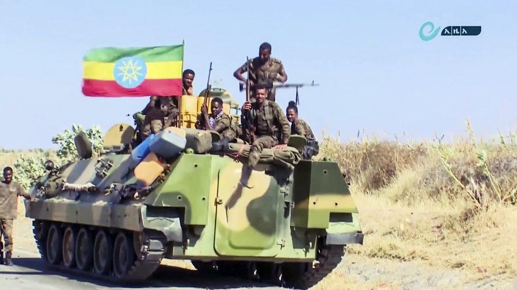 由2019年諾貝爾和平獎得主、衣索比亞總理阿比(Abiy Ahmed)統御的聯邦...