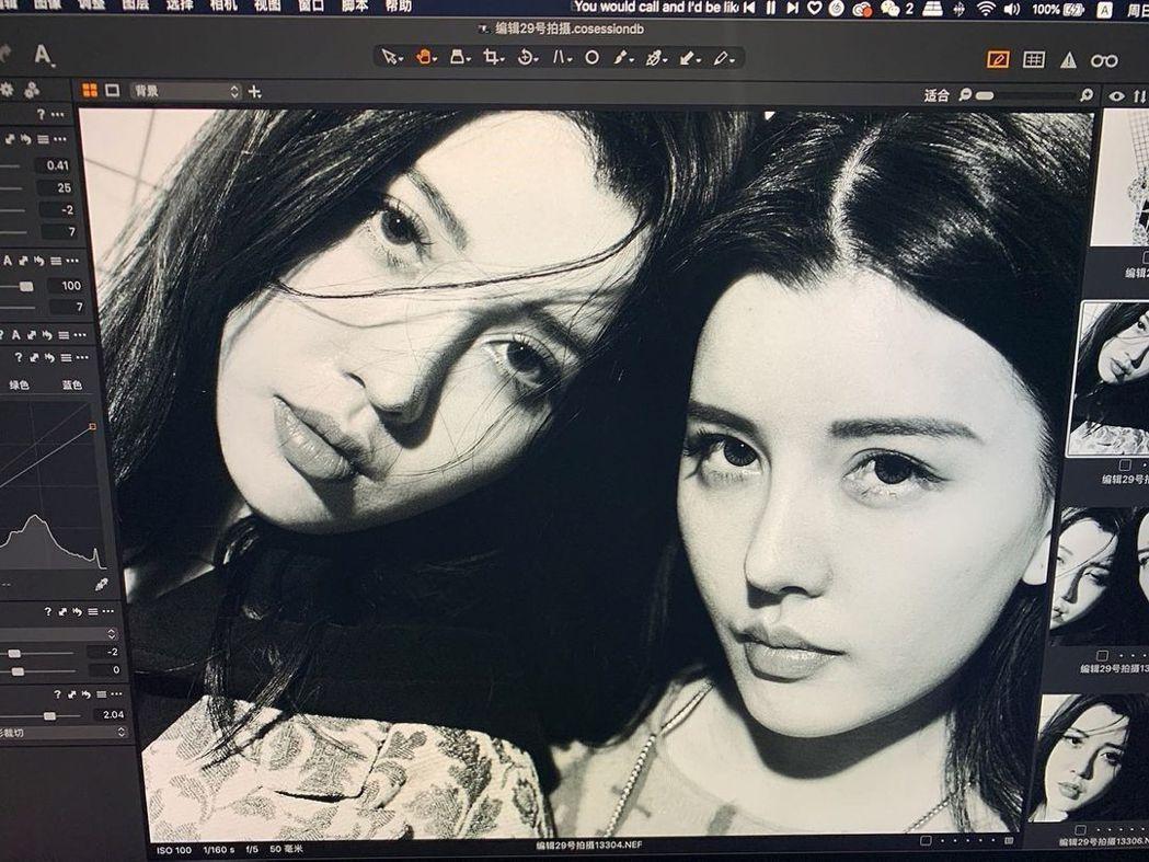 BY2姊妹倆之前的妝容造型都一樣,常讓人難以區分。圖/擷自Yumi IG