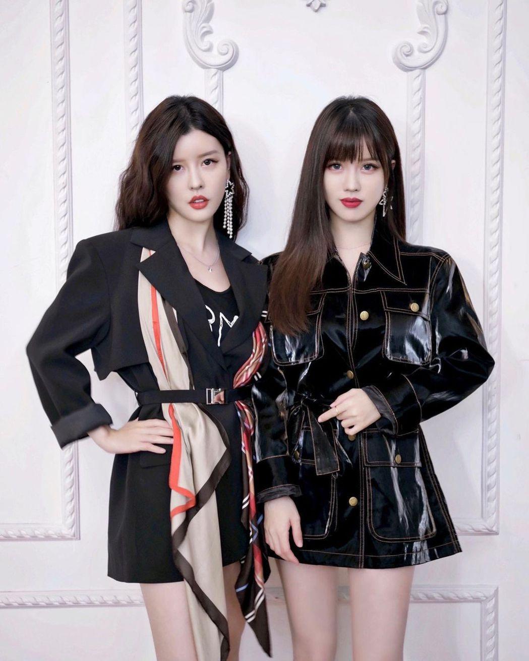 Yumi(右)新變化,姊妹倆變得很好區分。圖/擷自Yumi IG