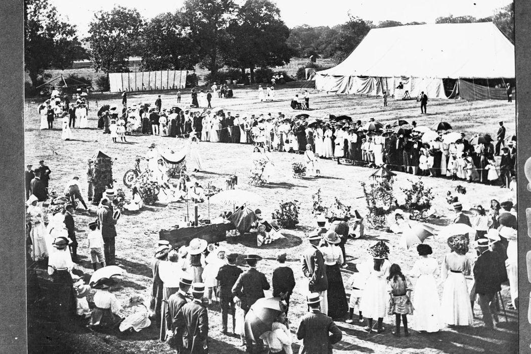 作為世界第一座田園城市,當時萊奇沃思內的商業中心、住宅、工業區被仔細規劃開來。圖...