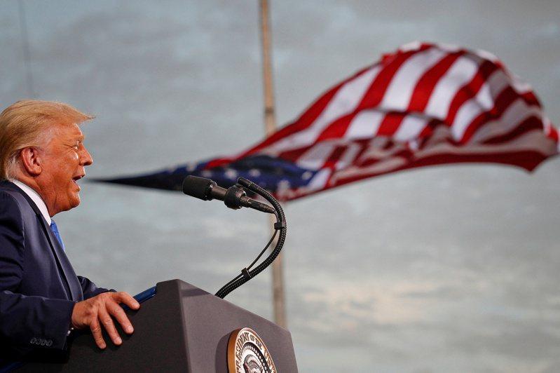美國總統川普。路透社
