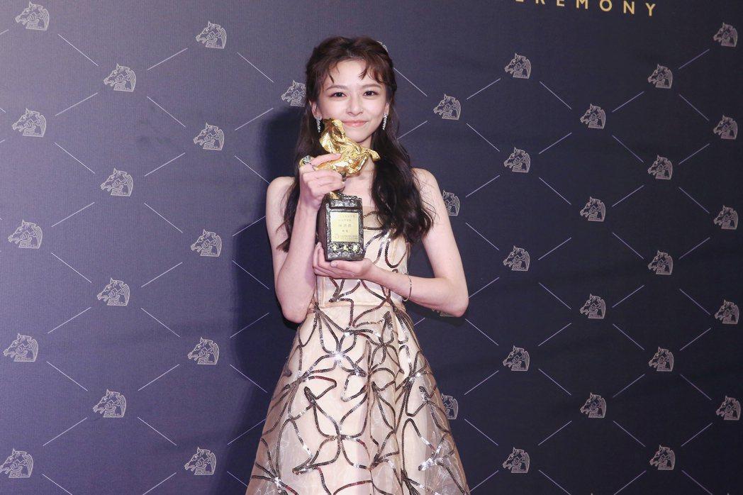 第57屆金馬獎頒獎典禮在國父紀念館舉行,最佳新演員由《無聲》陳姸霏獲得。記者林伯